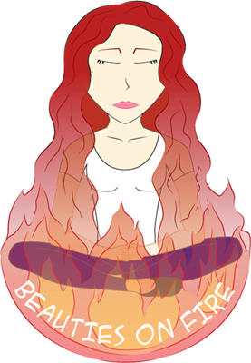 collaboration Beauties on Fire Logo