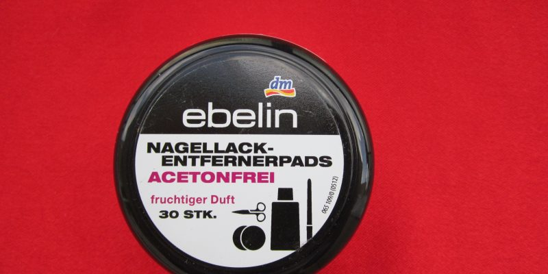 ebelin nail polish remover pads beautyholics.co