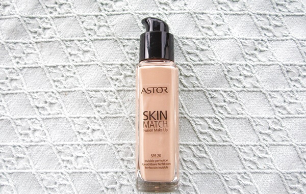 makeup newbie astor skin match fusion make up foundation SPF 20