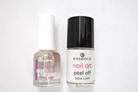 My base coats: a mandatory step for the best manicure