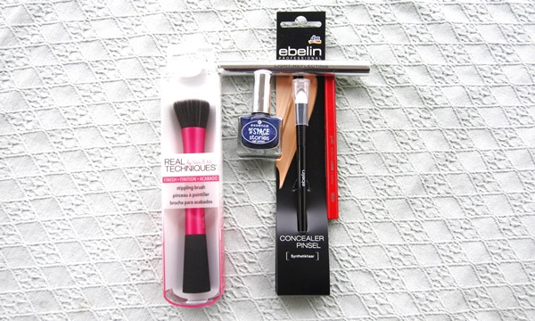 haul real techniques stippling brush essence nail polish space stories ebelin concealer pinsel makeup brush lip pencil catrice light reflecting concealer