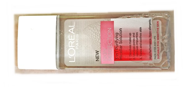 L'oreal skin perfection 3 in 1 purifying micellar solution review