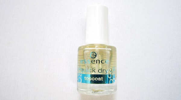 esence quick dry top coat