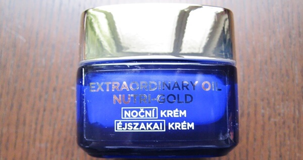 l'oreal night cream extraordinary oil nutri gold