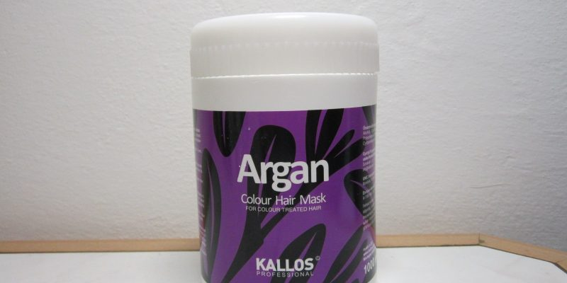 kallos argan color hair mask
