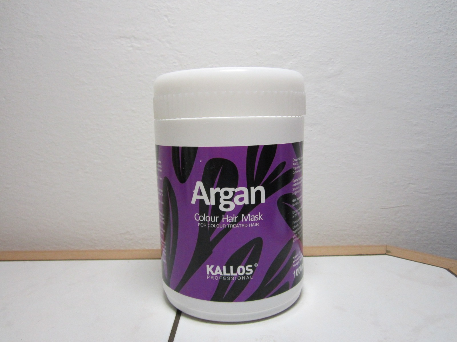 Kallos Cosmetics Review Argan Hydrating Hair Mask beautyholics.co