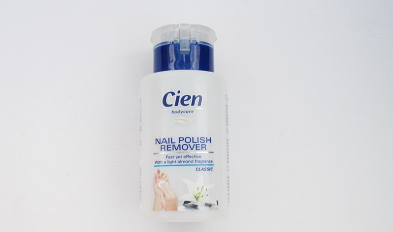 Cien Nail Polish Remover Classic Packaging Blue Review beautyholics.co