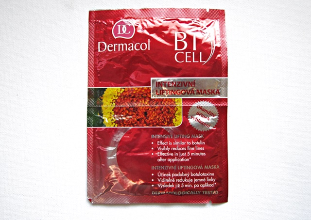 dermacol face lifting mask like botox