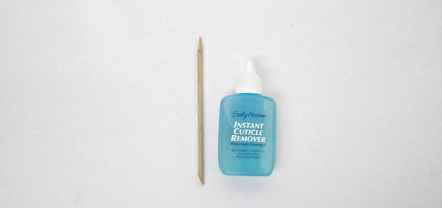 manicure neccesities sally hansen cuticle remover bamboo stick