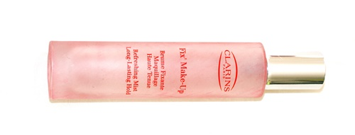 clarins fixing spray fix' make-up refreshing mist review