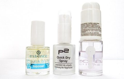 In a world always on the run you need a good quick dry solution for your manicure