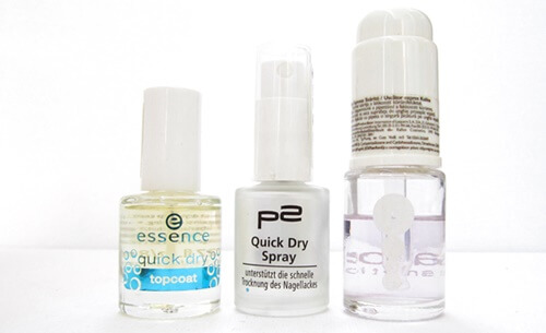 essence quick dry top coat p2 quick dry spray kallos quick dry drops