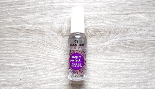 essence make-up fixing spray keep it perfect